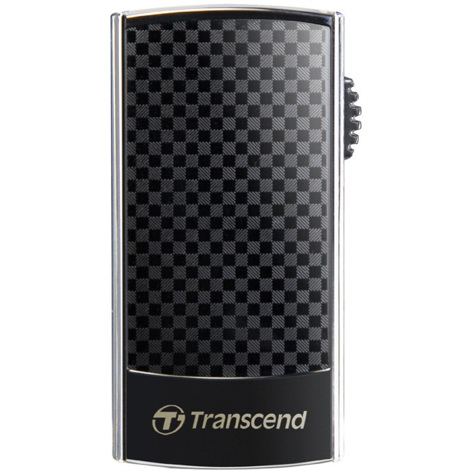 Памет 16GB USB Flash Drive, Transcend JetFlash 560, USB 2.0, черна image