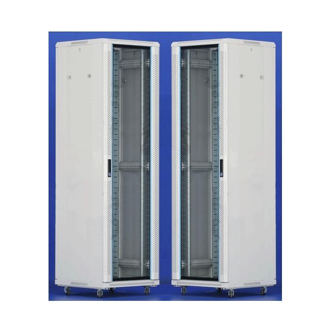 "Комуникационен шкаф Toten AS.6832, 19"", 32U, 600x800 мм, до 800кг товароносимост, IP20 защита image"