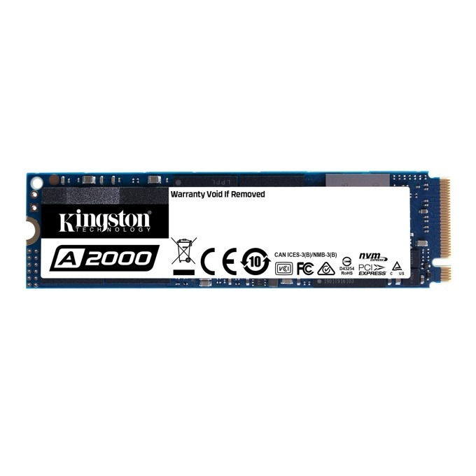 Kingston 500GB A2000 M.2-2280 PCIe NVMe