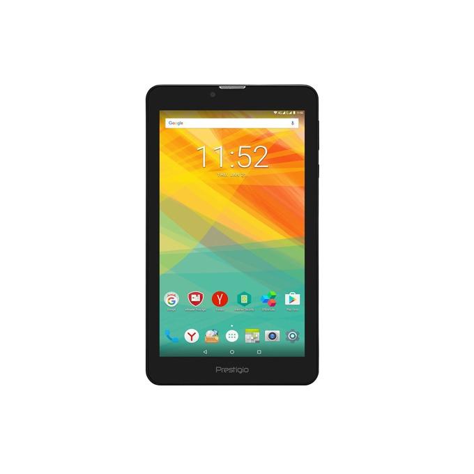 "Таблет Prestigio Grace 3157 4G (винено червен), 7.0""(17.78 см) IPS LCD Dsiplay, четириядрен 1.1 GHz, 1GB RAM, 8GB Flash памет, 2 & 0.3 Mpix camera, Android image"