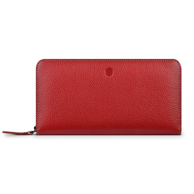 Калъф за Apple iPhone, Flip Wallet, кожен, Beyza Frances Wallet, червен image