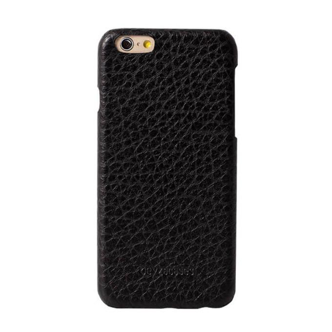 Калъф за Apple iPhone 7/8, кожа, Beyza Feder, черен image