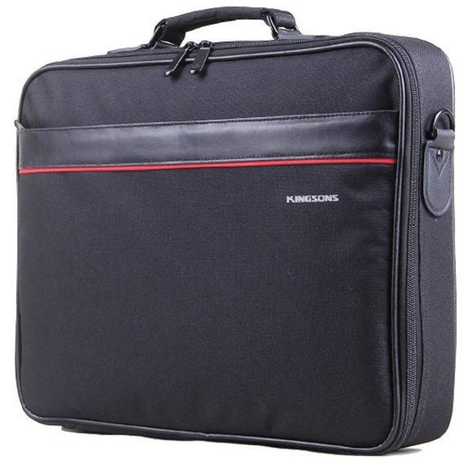 "Чанта за лаптоп Kingsons K8674W-A, до 15.6""(39.62 cm), черна  image"