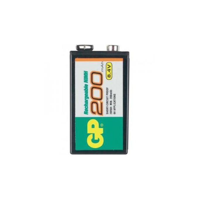Акумулаторна Батерия GP NiMH R22, 8.4V, 200mAh, 1бр. в опаковка image
