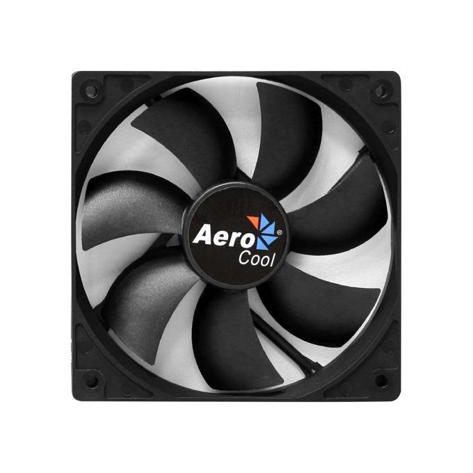 Вентилатор 120mm AeroCool Dark Force Black, 3-pin, 1800rpm image