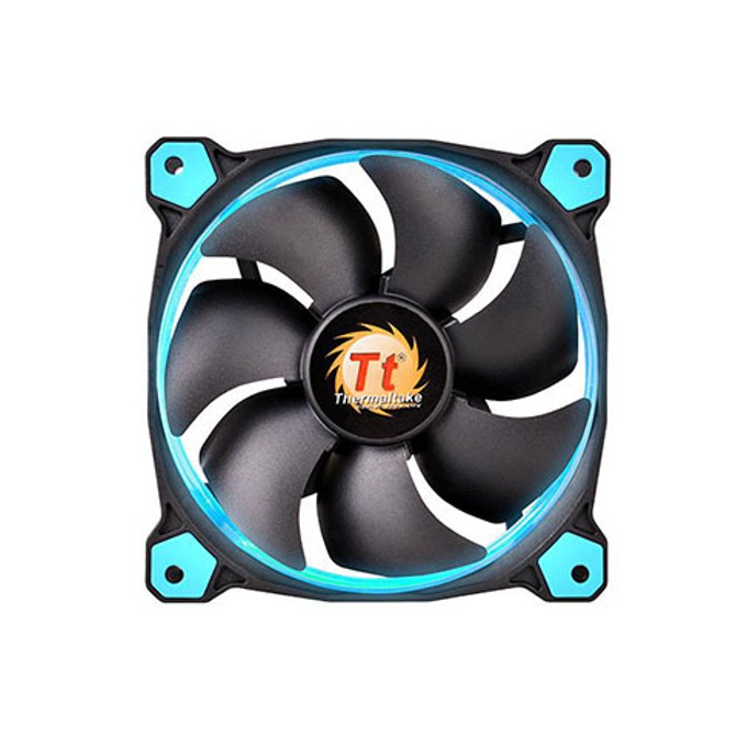 Вентилатор 140mm, Thermaltake Riing 14 LED Blue, 1400rpm image