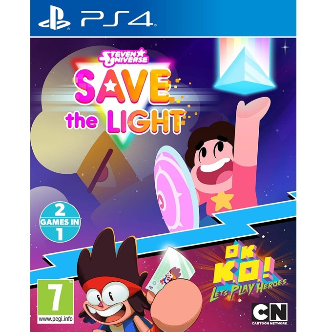 Игра за конзола Steven Universe Save The Light And OK K.O.! Lets Play Heroes, за PS4 image