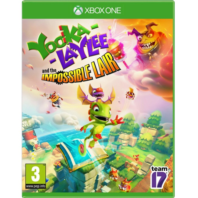 Игра за конзола Yooka-Laylee and the Impossible Lair, за Xbox One image