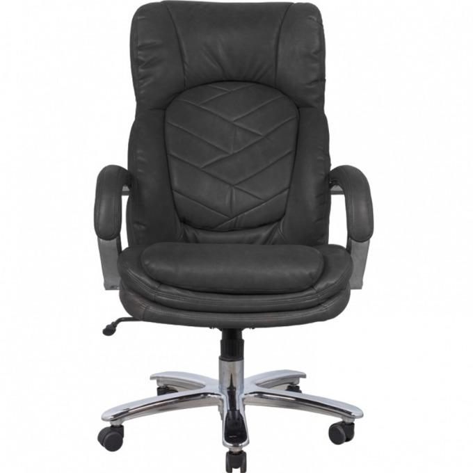 Директорски стол Maxxx, еко кожа, Хромирани подлакътници, черен image