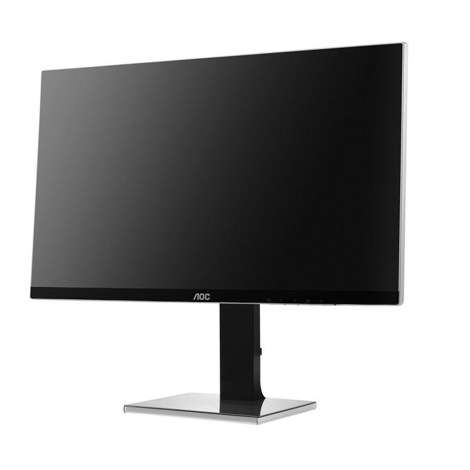 """Монитор AOC U2777PQU, 27""""(68.58 см)IPS панел, UHD, 4ms, 80000000:1, 350 cd/m2, HDMI, DP, DVI, VGA image"""