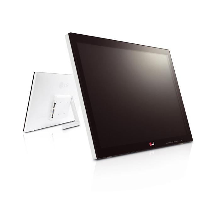 """Монитор 23"""" (58.42 cm) LG 23ET63V-W, AH-IPS, Touch, 5ms, 250cd/m2, 5 000 000:1, HDMI, Бял image"""