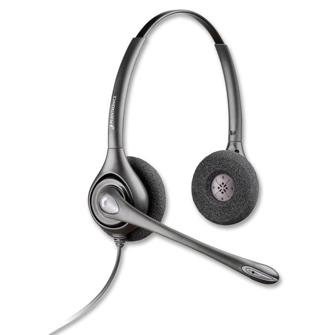Слушалки Plantronics SupraPlus HW261N, широколентов звук, шумо-изолиращ микрофон, QD букса image