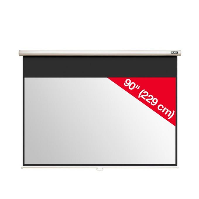 "Екран Acer M90-W01MG 90"" (228.60 cm), за стена/таван image"