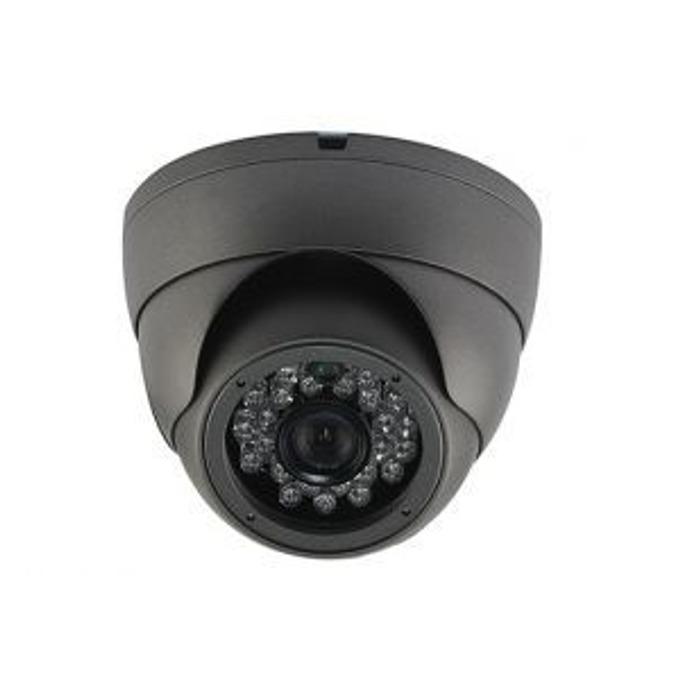 AHD/TVI/CVI/CVBS камера irLAN DOL-TAC1080F3.6SH25B, куполна камера, 2.4MP(1080p), 3.6mm обектив, IR осветеност (до 20 m), за външен монтаж image