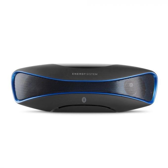 Тонколона Energy Music Box BZ3 Blue, 2.0, Bluetooth до 15 часа време за работа, синя ,микрофон, осветен дисплей image