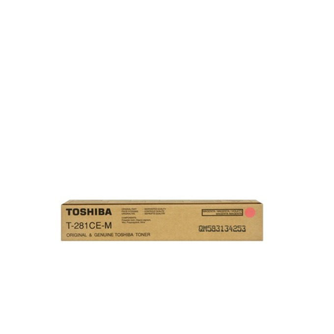 TОНЕР ЗА КОПИРНА МАШИНА TOSHIBA eStudio 281c/351e/451e - Magenta - P№ T-281-CEM - заб.: 10000k/220gr. image