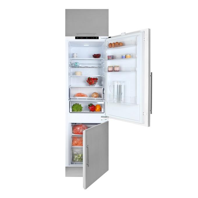 Хладилник с фризер Teka CI3 342, клас А+, 264 л. общ обем, за вграждане, 308 kWh/годишно, дисплей, възможност за обръщане на вратата, бял image