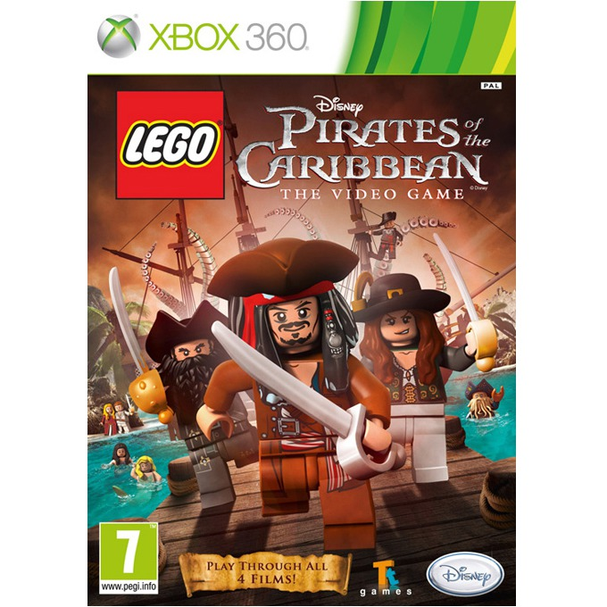 Игра за конзола LEGO Pirates of the Caribbean: The Video Game, за XBOX360 image