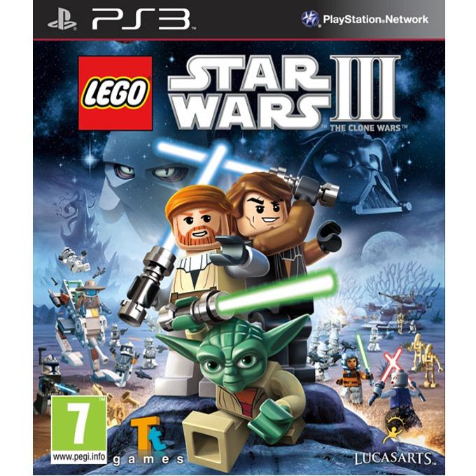Игра за конзола Lego Star Wars III: The Clone Wars, за PlayStation 3 image