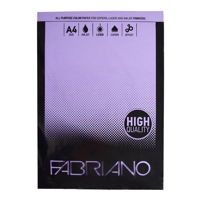 Fabriano A4, 160 g/m2, виолетов, 50 листа product