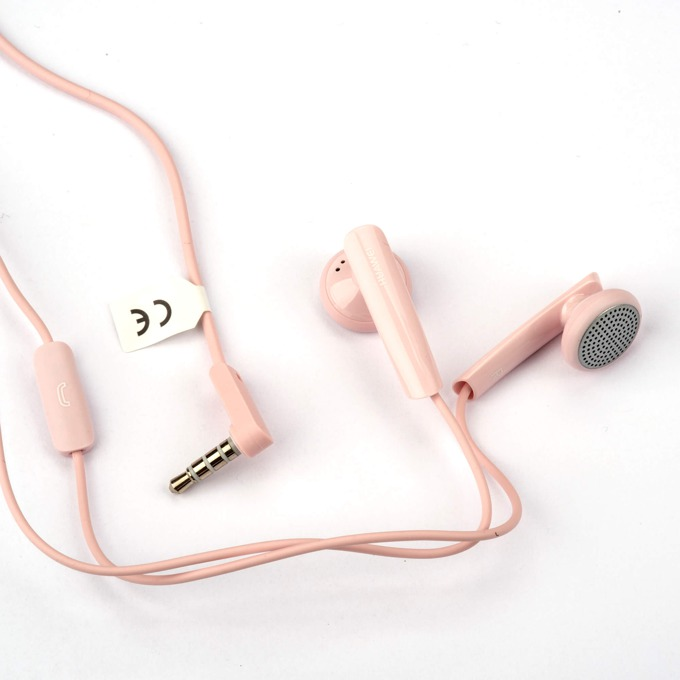 Слушалки Huawei Stereo Headset, микрофон, управление на звука за Huawei мобилни устройства, черни- розови image