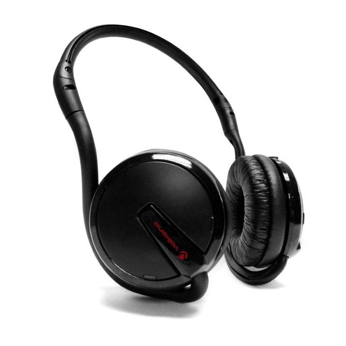 Слушалки Volkano VB-503BK, безжични(Bluetooth 4.0), микрофон, 20 часа време за работа, калъф за смартфон, черни image