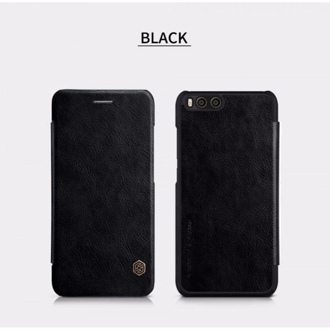 Калъф Xiaomi Mi 6, отваряем, кожен, Nillkin, XI262-Cheren, черен image