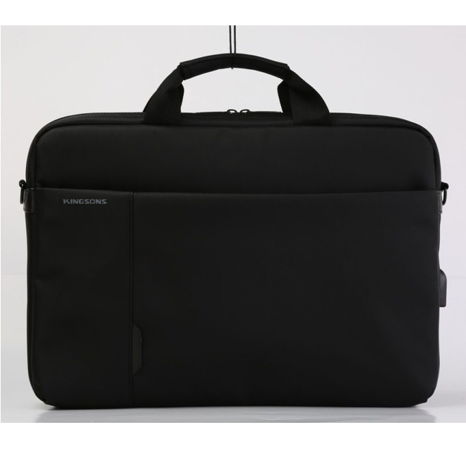 "Чанта за лаптоп Kingsons K9008W, до 15.6"" (39.60cm), водонепромокаема, черна image"