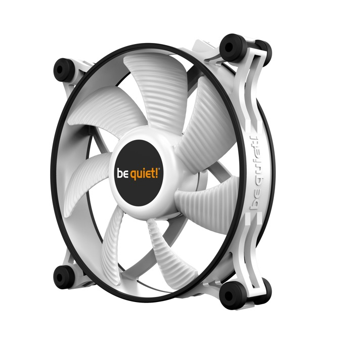 Вентилатор 120mm Be Quiet Shadow Wings 2 white, 1100rpm image