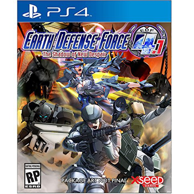 Earth Defense Force 4.1 The Shadow of New Despair product