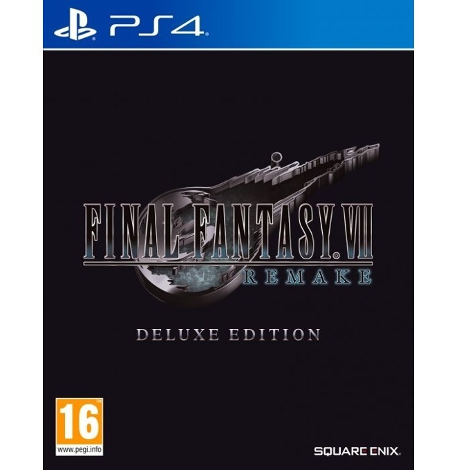 Final Fantasy VII Remake - Deluxe Edition PS4 product