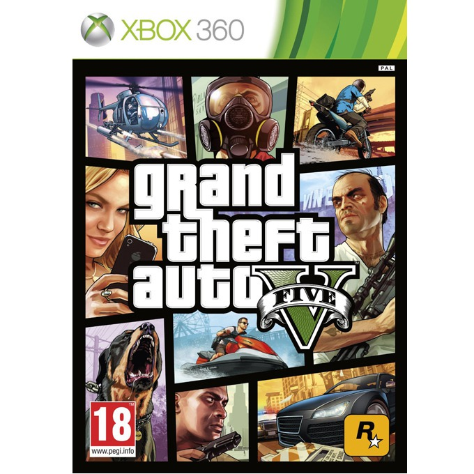 GTA: Grand Theft Auto V product