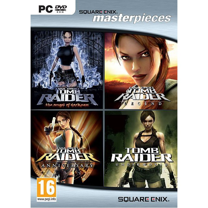 Tomb Raider Collection 4 in 1, за PC image