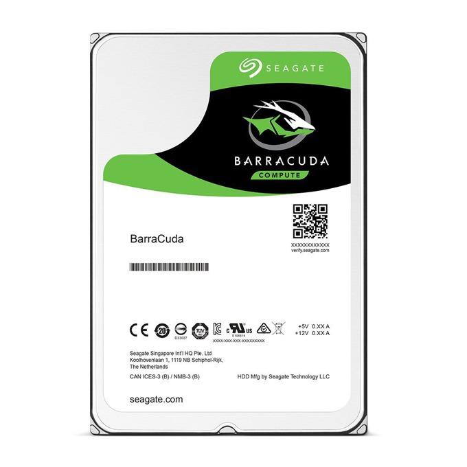 """Твърд диск 500GB Seagate BarraCuda, SATA 6Gb/s, 5400 rpm, 128MB кеш, 2.5"""" (6.35cm) image"""