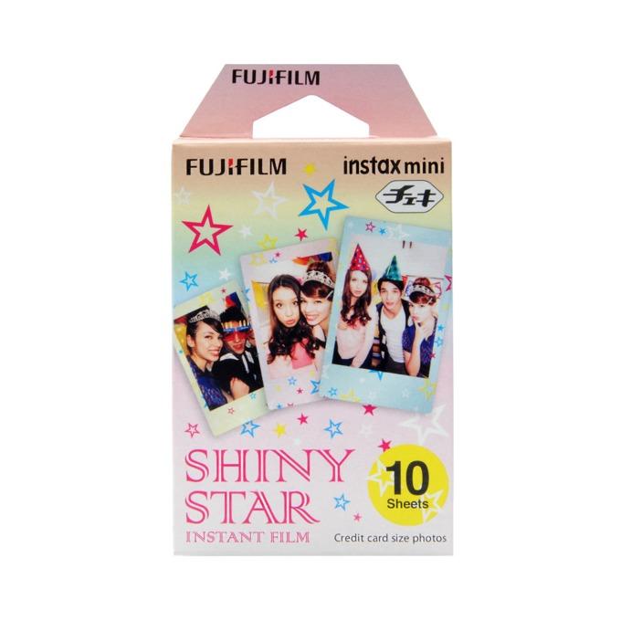 Фотохартия Fujifilm Shiny Star Instant Film, за Fujifilm Instax Mini, 10 листа image