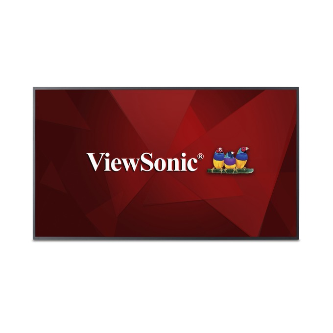 "Дисплей ViewSonic CDE6510, 65"" (165.1 cm), Ultra HD, HDMI, VGA, DisplayPort, RS232, USB image"