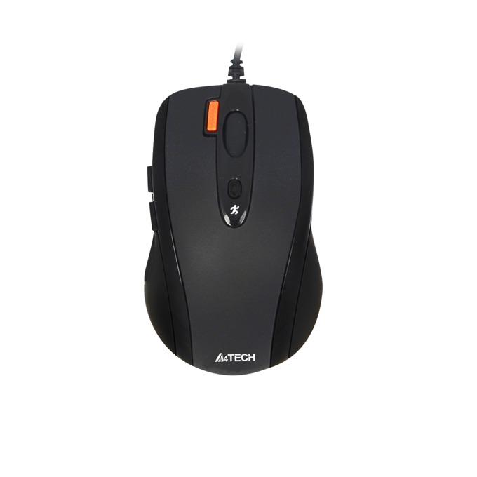 Мишка A4Tech N-70FX V-Track, черна, USB image