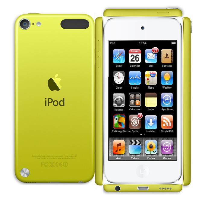 "Apple iPod touch, 4.0"" display, 32Gb, жълт image"