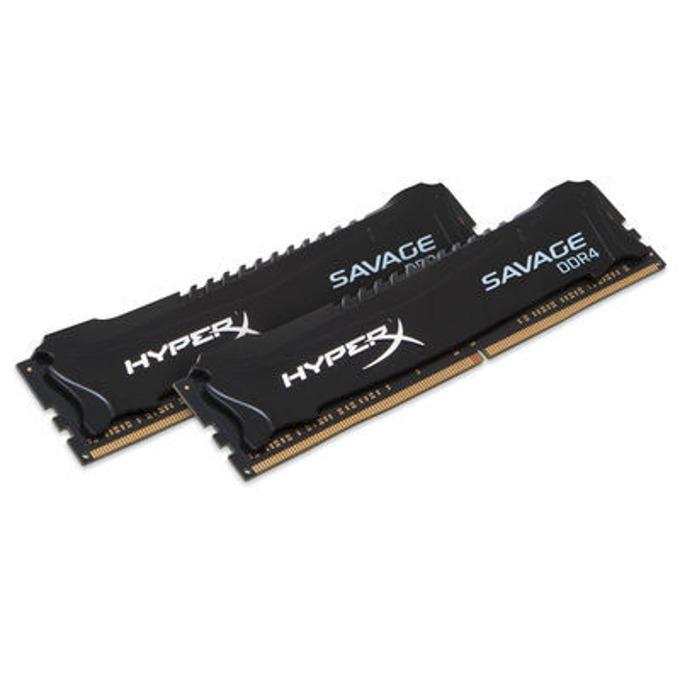 32GB (2x16GB) DDR4 2666MHz, Kingston HX426C15SBK2/32, 1.2V image