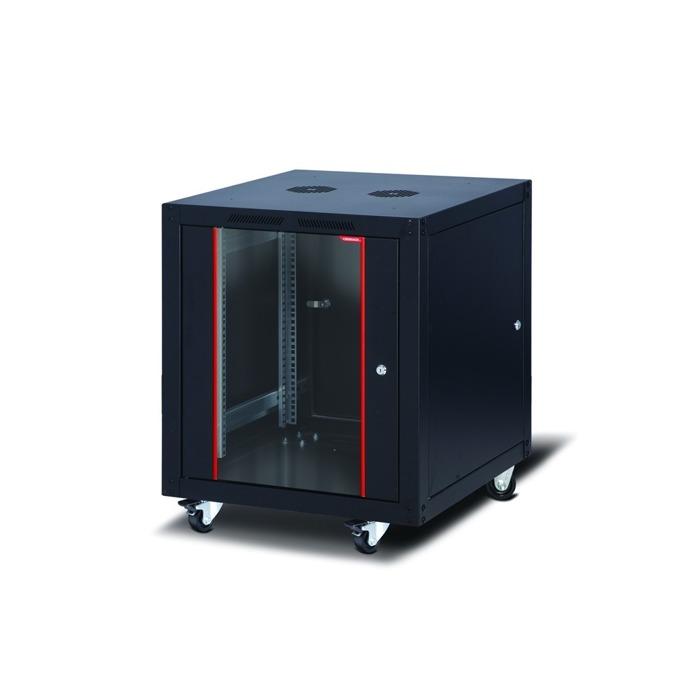 """Комуникационен шкаф Formrack SLV-12U6060/BTA-12U6060, 19"""", 12U, 600 x 600 mm, черен image"""