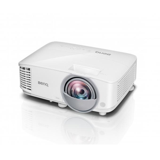 Проектор BenQ MX825ST, DLP, 3D Ready, XGA (1024x768), 3300 lm, 12,000:1, 2x HDMI, VGA, 1x USB A, 1x USB mini B, LAN image