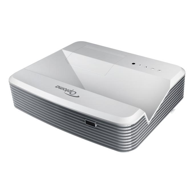 Проектор Optoma W320UST, късофокусен, 4000 Lumens, 20 000:1, UXGA, 2xHDMI, RJ45, USB image