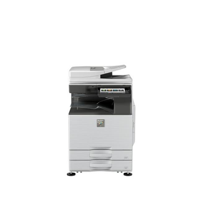 Мултифункционално LED устройство Sharp MX3060N, цветен, принтер/копир/скенер/факс, 600 x 600 dpi, 30 стр/мин., LAN 1000, Wi-Fi, USB, A3  image