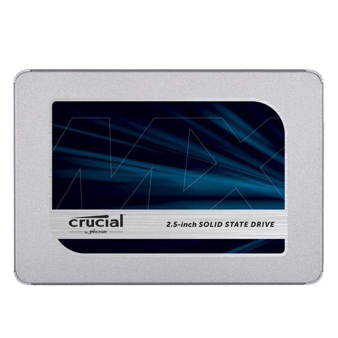 """Памет SSD 2TB Crucial MX500, SATA 3.0 6.0Gb/s, 2.5"""" (6.35 cm), скорост на четене 560MB/s, скорост на запис 510MB/s image"""
