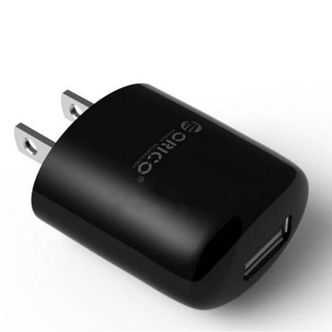 Зарядно устройство Orico DCX-1U-BK, от US шуко към USB 2.0, черно image