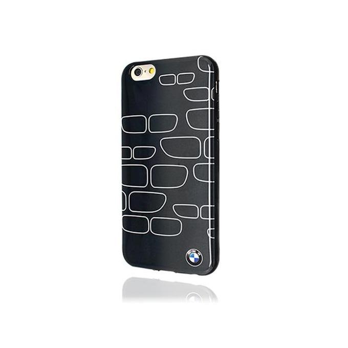 Калъф за Apple iPhone 6/6S, страничен протектор с гръб, силикон, BMW TPU Case, сив image