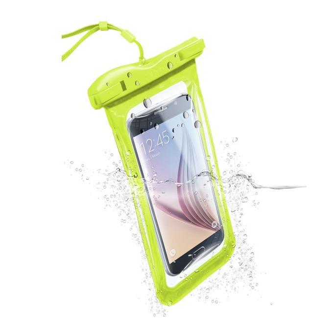 """Водоустойчив калъф за мобилни устройства до 5,7""""(14,47cm), лайм image"""