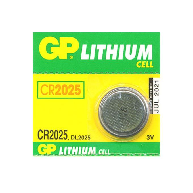 Батерия литиева GP CR2025, 3V, 1бр. image