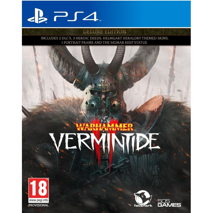 Игра за конзола Warhammer: Vermintide 2 - Deluxe Edition, за PS4 image