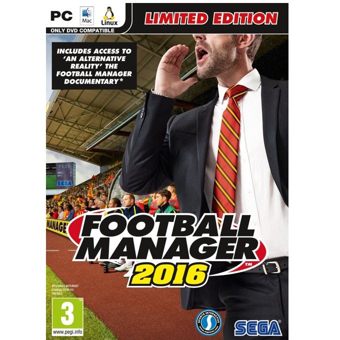 Football Manager 2016 - Limited Edition, за PC image